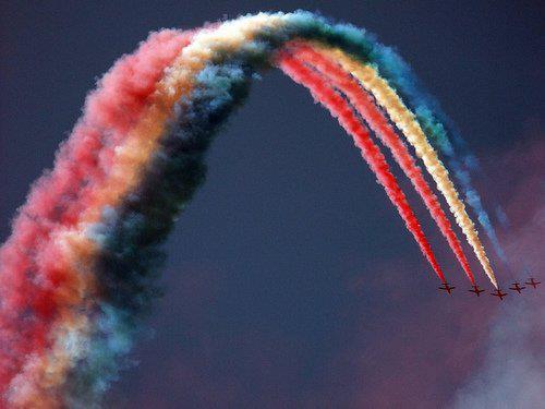 RAF Red Arrows, 2010 Photo by Amy Lloyd